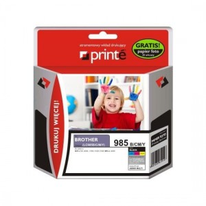 Tusze Printe do Brother LC985 - komplet 4 kolory