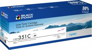 Toner do HP 130A [CF351A] - Zamiennik Black Point - Cyan 1350 Stron