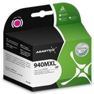 Tusz Asarto do HP 940MXL (C4908AE) - Magenta (30 ml)