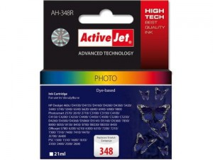 Tusz fotograficzny ActiveJet do HP 348 C9369EE (AH-348R) - Kolor C-M-Y (21 ml)