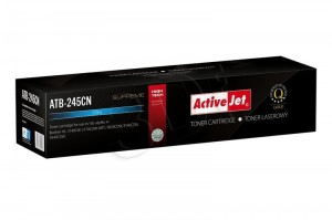 Toner do Brother TN-245C - Zamiennik Activejet - Cyan 2 200 Stron