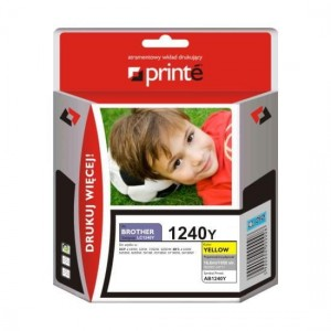 Tusz Printe do Brother LC1240Y - Żółty (11,5 ml)