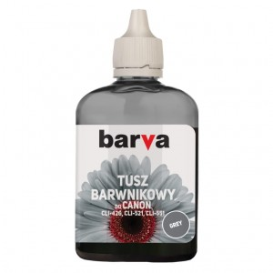 Dye ink Barva for Canon - Grey 90 ml