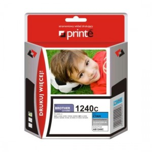 Tusz Printe do Brother LC1240C - Cyan (11,5 ml)
