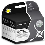 Tusz Asarto do Lexmark 100 | 14 ml | Pro205 / Pro905 | yellow