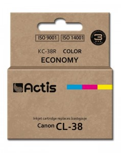 Tusz Actis zamiennik do Canon CL-38 (KC-38R) C-M-Y (12 ml)