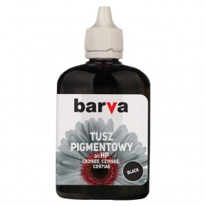 Tusz pigmentowy Barva do HP - Black 90 ml.