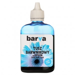 Dye Ink Barva for Epson - Light Cyan 90 ml