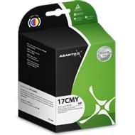 Tusz Asarto do HP 17 | 39 ml | 816c/840c/843c/DJ825/842c | CMY
