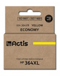 Tusz Actis zamiennik do HP 364XL (CB325EE) - Żółty (12 ml)