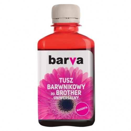 Tusz Barva magenta do Brother LC-1000 180 ml. - przód