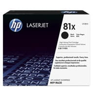 Toner HP 81X do LJ ENTERPRISE M605/606/630 | 25 000 str. | black