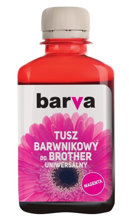 Tusze Barva 180 magenta do Brother